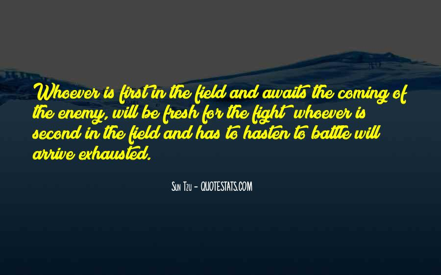 Fight The Battle Quotes #41408