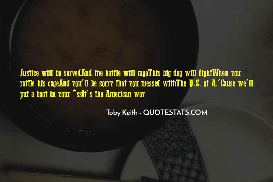 Fight The Battle Quotes #43266