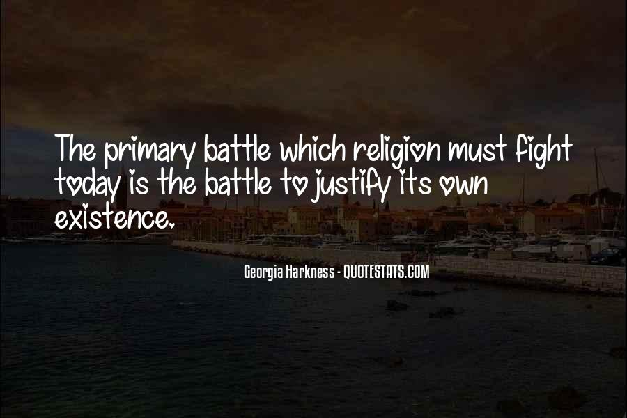 Fight The Battle Quotes #525383