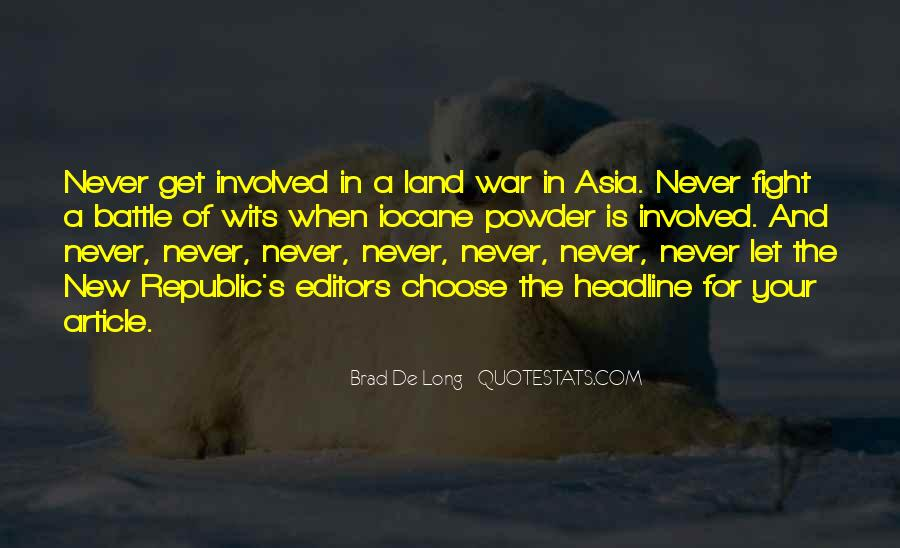 Fight The Battle Quotes #546728