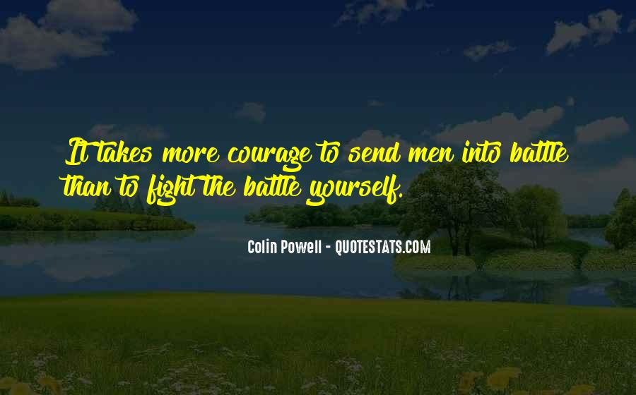 Fight The Battle Quotes #552902