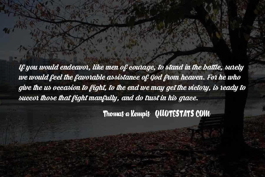 Fight The Battle Quotes #721543