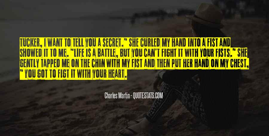 Fight The Battle Quotes #97424