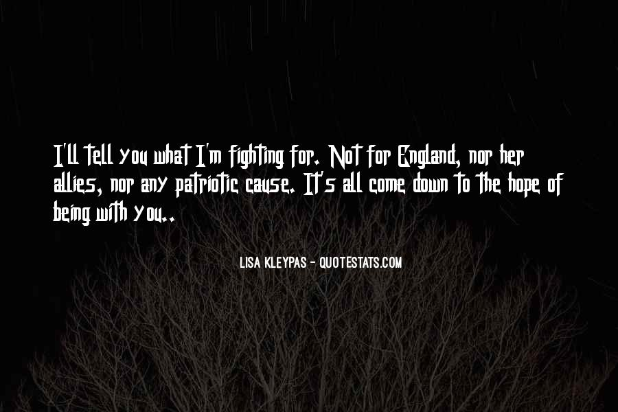 Fighting For You Love Quotes #1820960