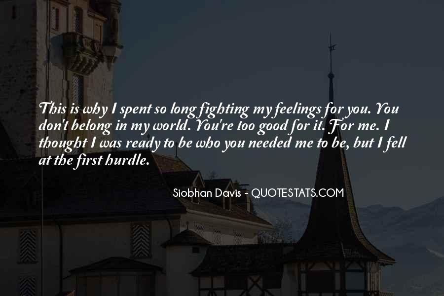 Fighting For You Love Quotes #520688