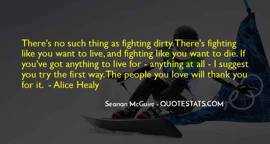 Fighting For You Love Quotes #738833