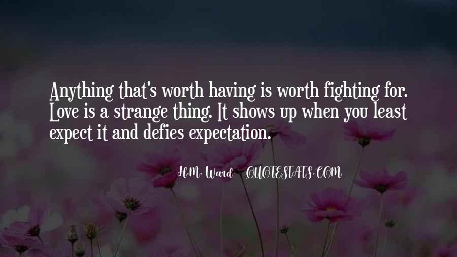 Fighting For You Love Quotes #961646