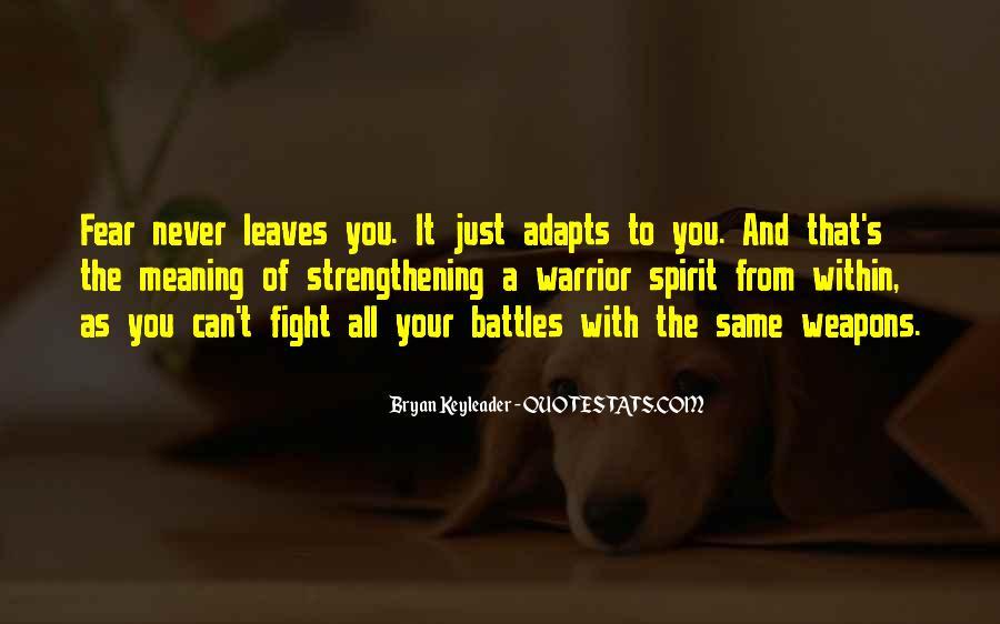 Fighting Spirit Quotes #415313