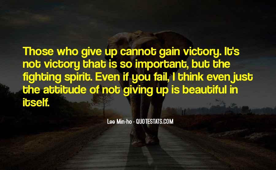 Fighting Spirit Quotes #493683