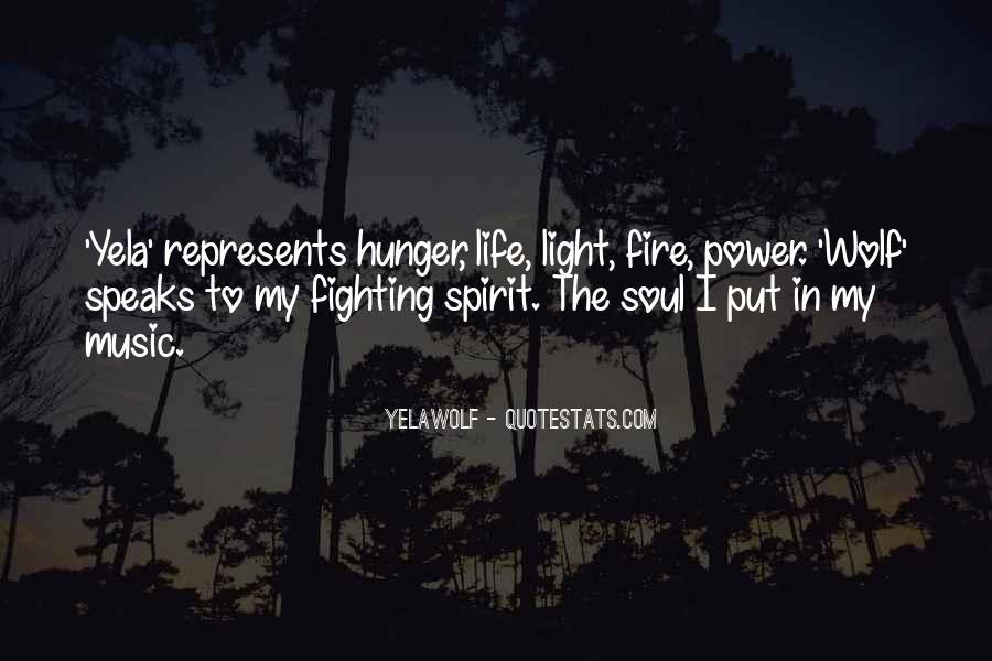 Fighting Spirit Quotes #718010