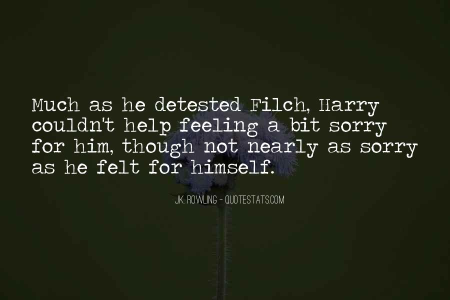 Filch Quotes #313579