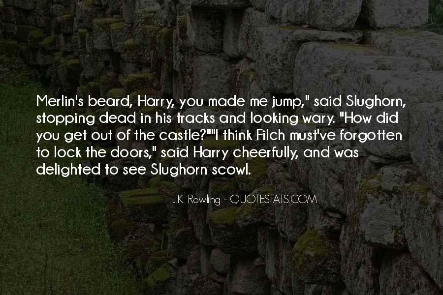 Filch Quotes #600453
