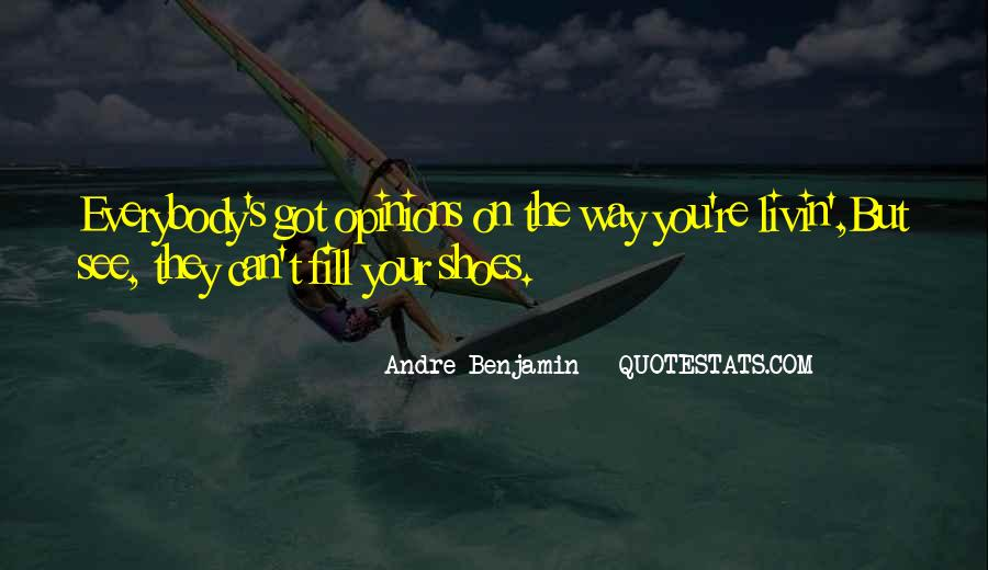 Fill Your Shoes Quotes #475684