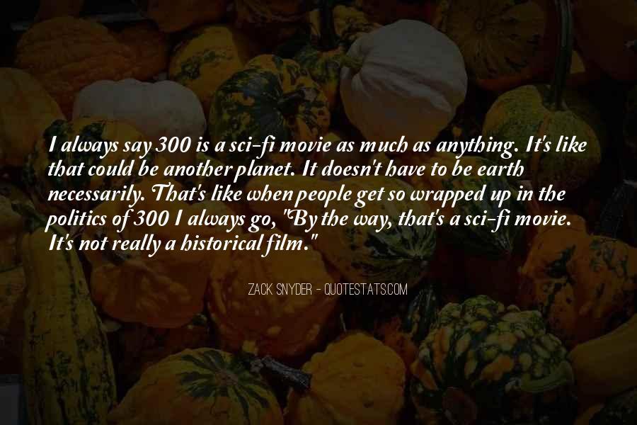Film 300 Best Quotes #1163061