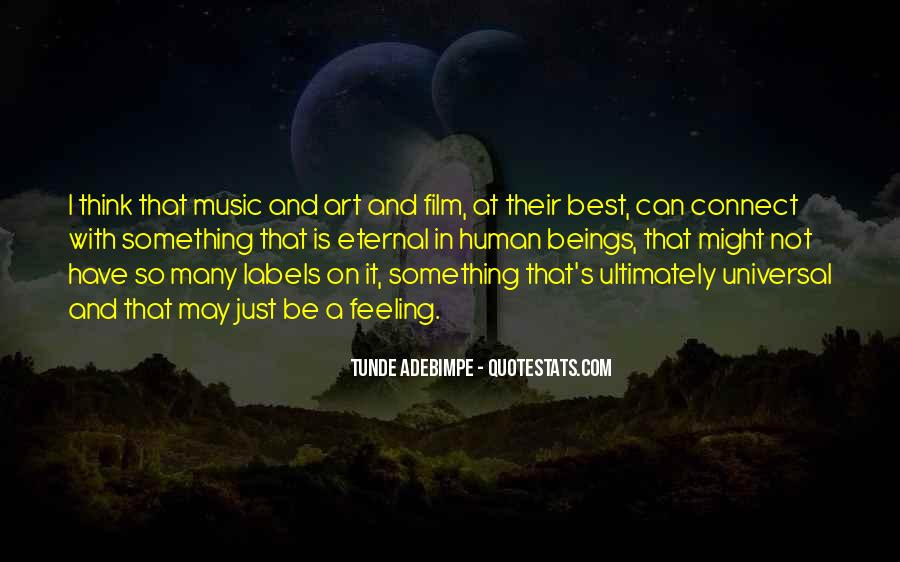 Film And Music Quotes #285693