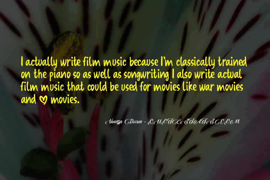 Film And Music Quotes #859117