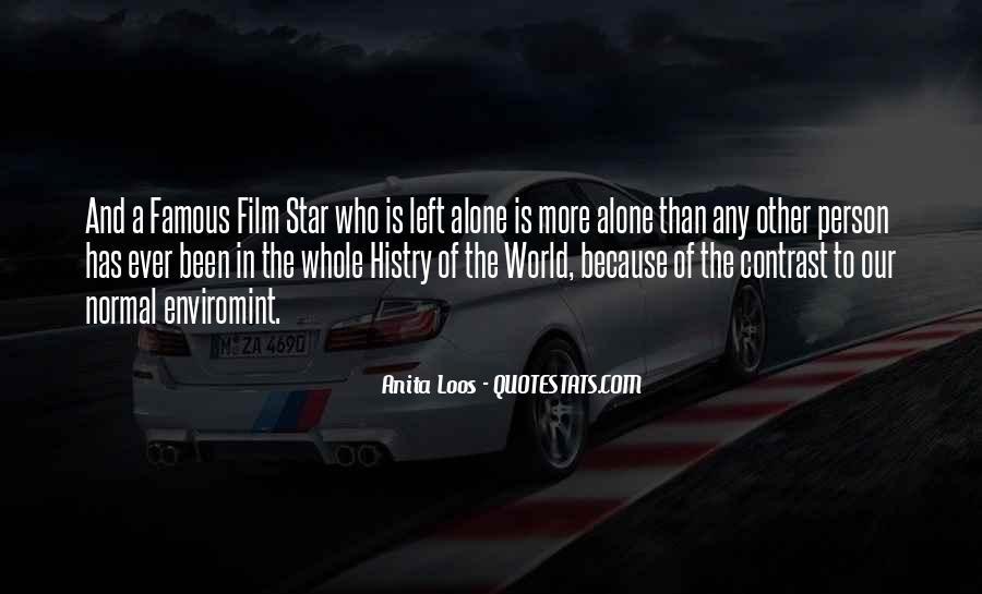 Film Stars Famous Quotes #1657311