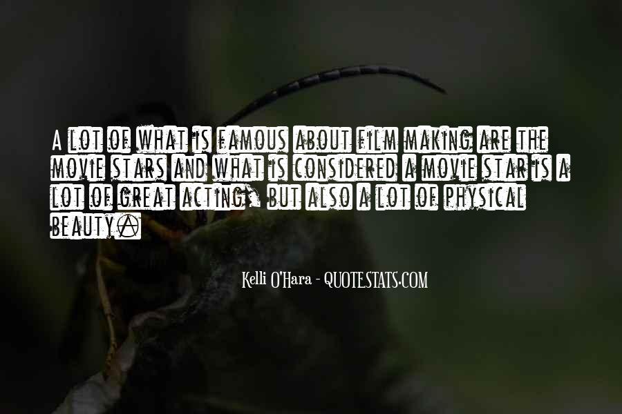 Film Stars Famous Quotes #253025