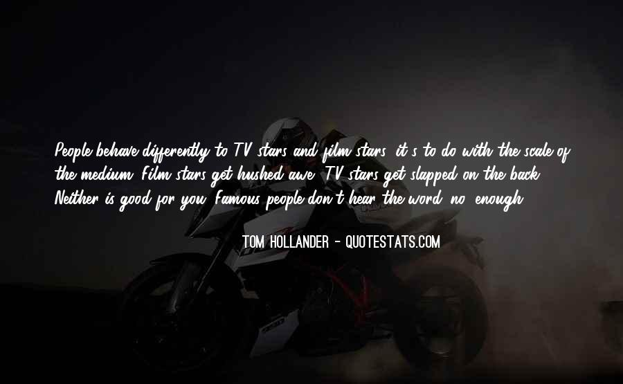 Film Stars Famous Quotes #337407