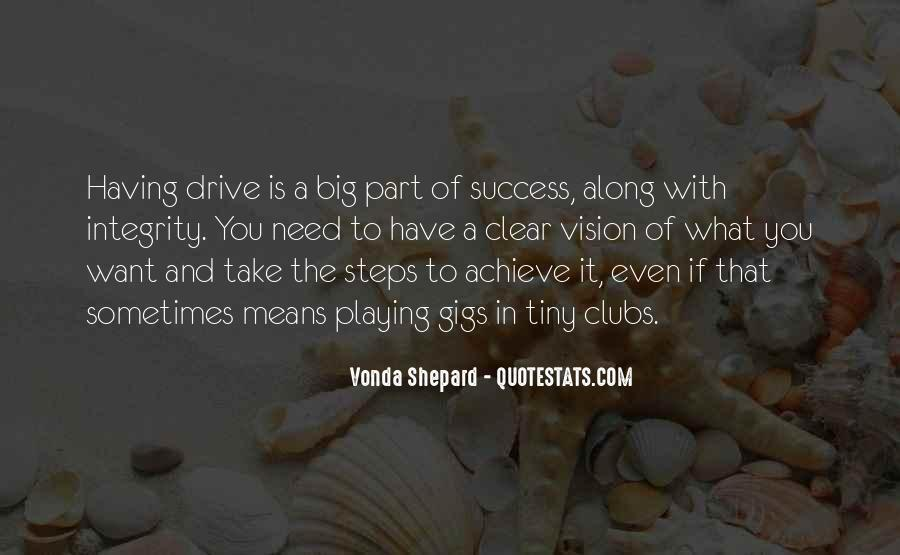 Quotes About Having The Drive To Success #84544