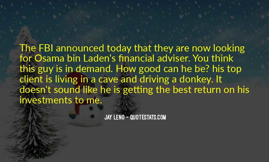 Financial Adviser Quotes #1059756
