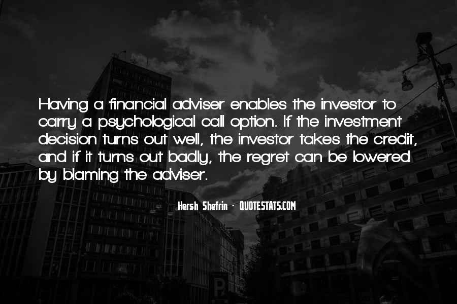 Financial Adviser Quotes #387661