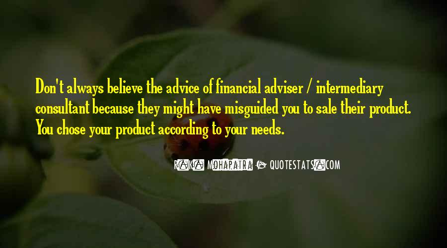 Financial Adviser Quotes #999424