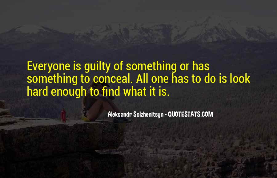 Find Me Guilty Quotes #1464112