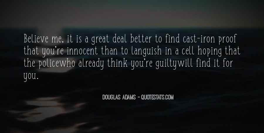 Find Me Guilty Quotes #1804677