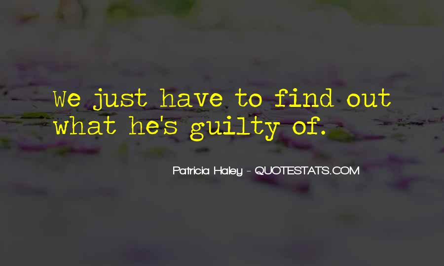 Find Me Guilty Quotes #720044