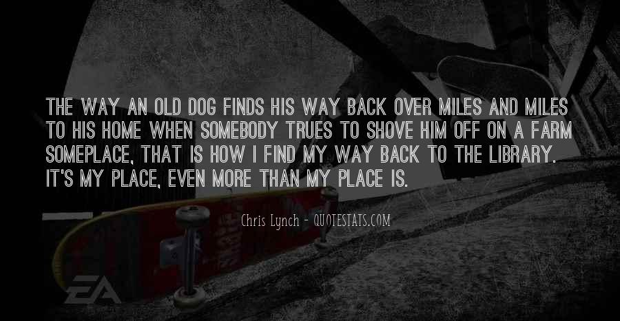 Find My Way Back Quotes #1831681