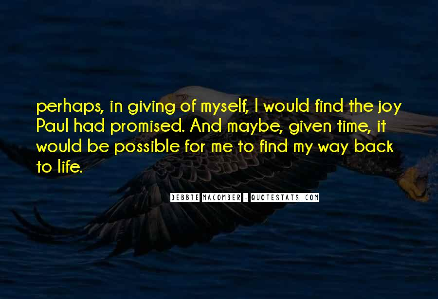 Find My Way Back Quotes #384960