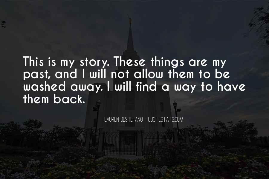 Find My Way Back Quotes #780327