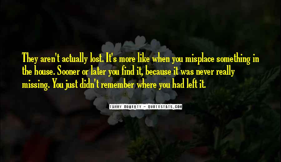 Find You Sooner Quotes #282220