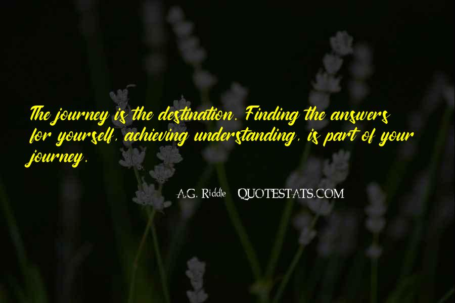 Finding The Answers Quotes #1395820