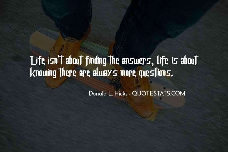 Finding The Answers Quotes #1520555