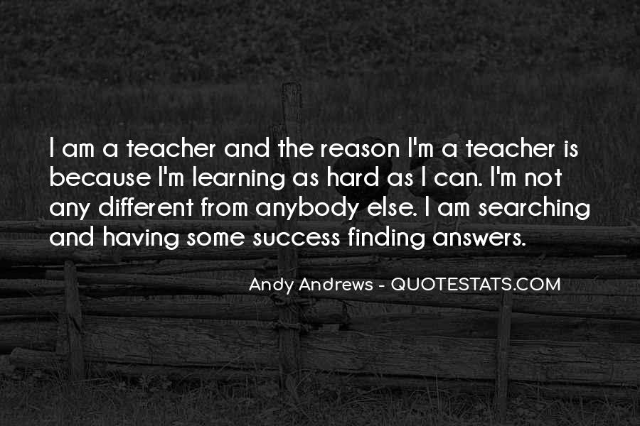 Finding The Answers Quotes #160793