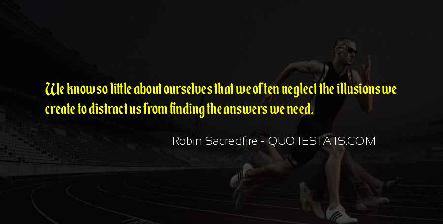 Finding The Answers Quotes #354246