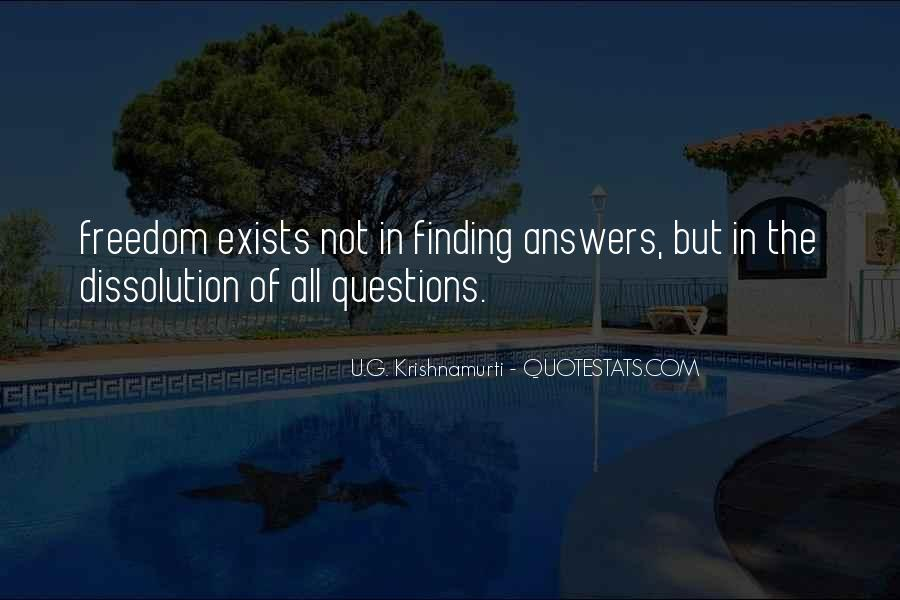 Finding The Answers Quotes #409761