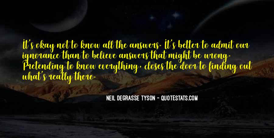 Finding The Answers Quotes #433078