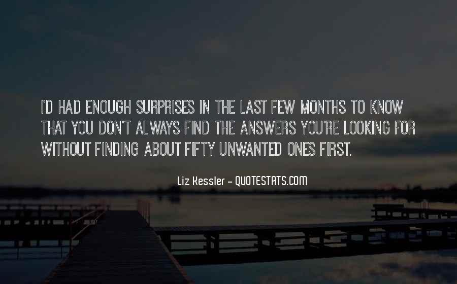 Finding The Answers Quotes #736473