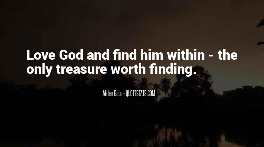 Finding The One U Love Quotes #20886