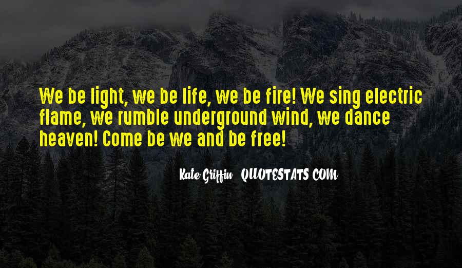 Fire Dance Quotes #1618495