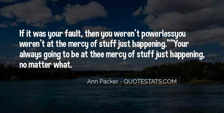 Quotes About Having Mercy #35509