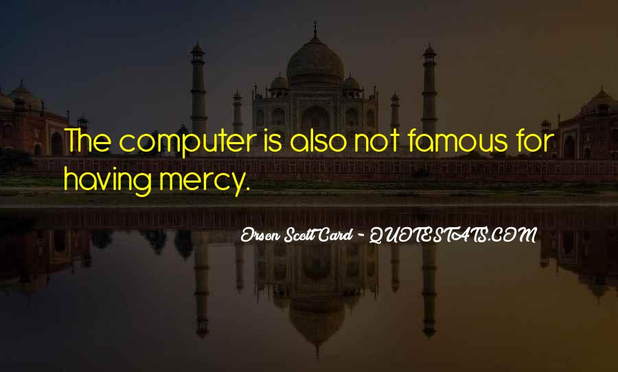 Quotes About Having Mercy #96326