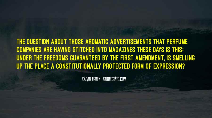 First Amendment Freedoms Quotes #1346262