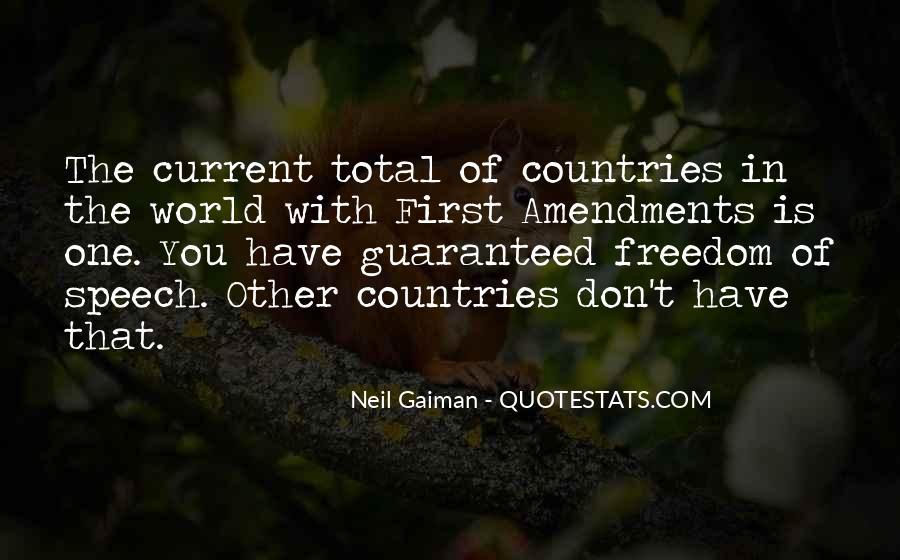 First Amendments Quotes #1218941