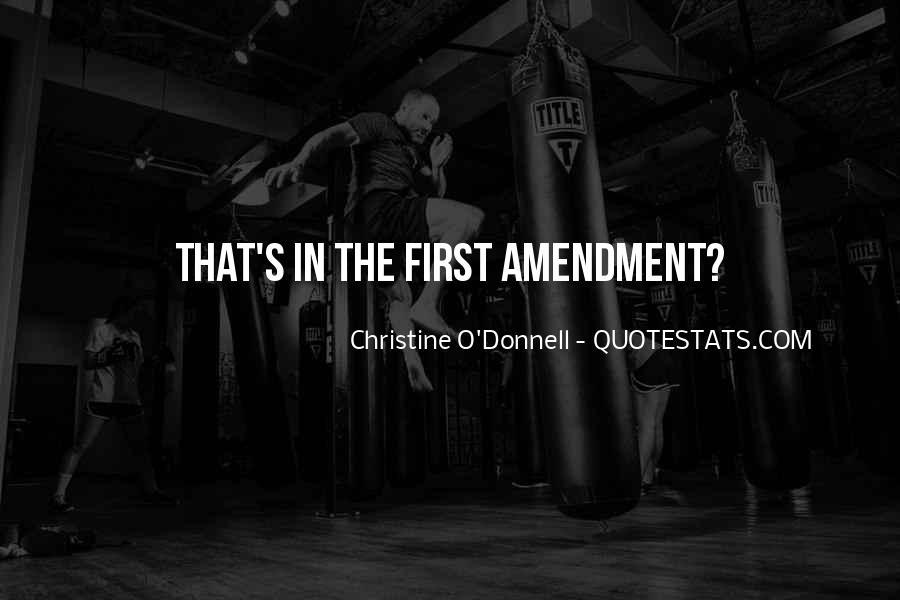 First Amendments Quotes #624553
