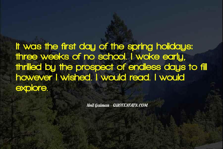 First Day Spring Quotes #1159907