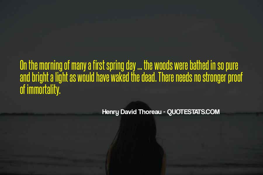 First Day Spring Quotes #1642319